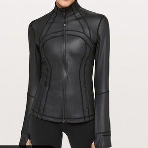 Lululemon NWOT Define Jacket Shine Black